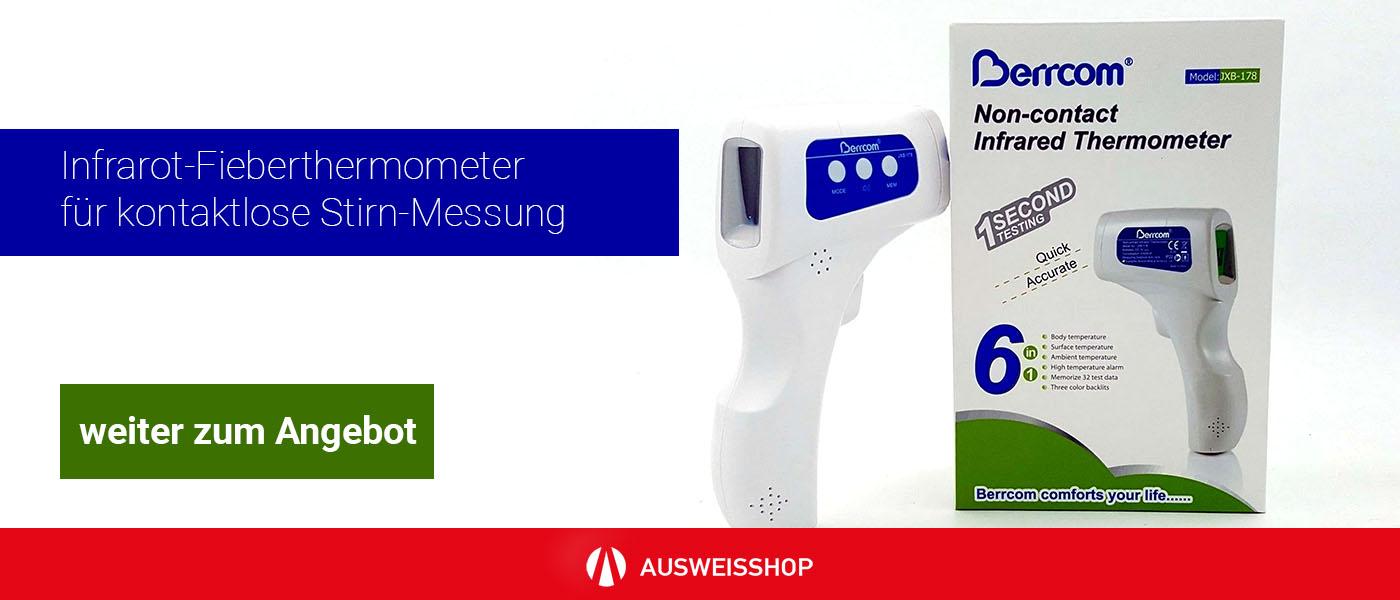 Medizinisches Infrarot-Fieberthermometer für kontaktlose Stirn-Messung